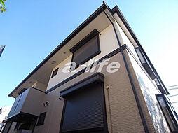 兵庫県神戸市東灘区本山北町6丁目の賃貸アパートの外観