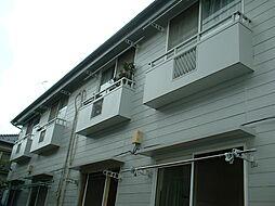 東京都中野区上鷺宮4丁目の賃貸アパートの外観