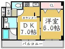 ZCO並木ビルZERO[-1階]の間取り