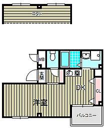 フォルツァ[4階]の間取り