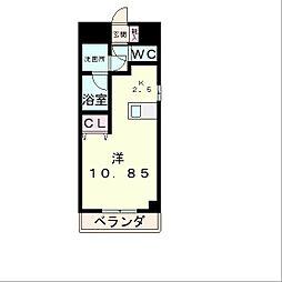 エンゼルプラザeast1[4階]の間取り