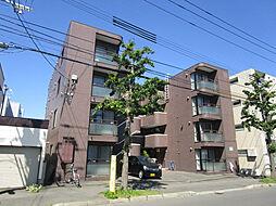 北海道札幌市東区北十七条東9丁目の賃貸マンションの外観