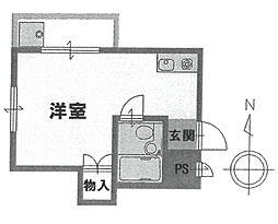 メゾン武庫之荘[301号室]の間取り