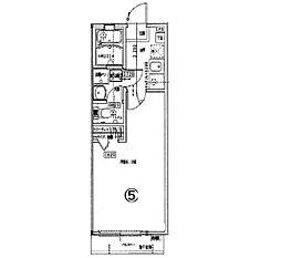 クレフラスト朱雀II[2階]の間取り