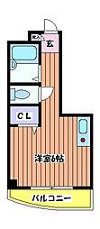 ラジオン[2階]の間取り