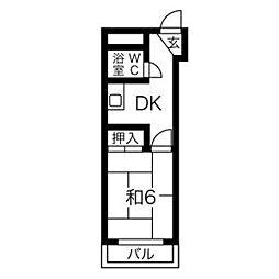 プレアール関目II[2階]の間取り