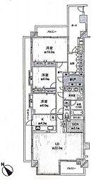 角の部屋「日神パレステージ井の頭公園東館」牟礼Selection