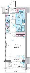 JR総武線 浅草橋駅 徒歩5分の賃貸マンション 12階1Kの間取り