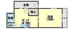 IBCマンション[2階]の間取り