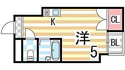 木村マンション[101号室]の間取り