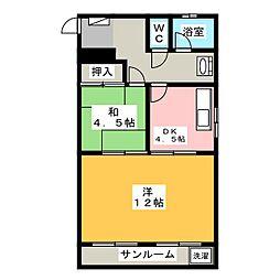 斎藤ビル[3階]の間取り