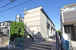 東京都足立区辰沼2丁目の賃貸アパートの外観