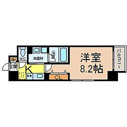 エルスタンザ千代田[9階]の間取り