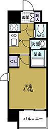 ファーストレジデンス大阪BAY SIDE[3階]の間取り