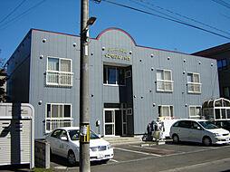 北海道札幌市東区北十九条東18丁目の賃貸アパートの外観