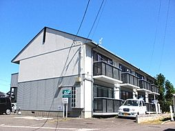 福島県福島市丸子字沢目の賃貸アパートの外観