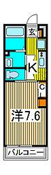 リブリ・Lenient III[1階]の間取り