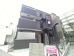兵庫県神戸市東灘区北青木4丁目の賃貸アパートの外観