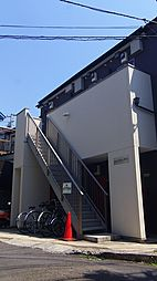 神奈川県横浜市鶴見区岸谷4丁目の賃貸アパートの外観