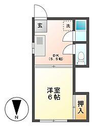 カワムラビル[3階]の間取り