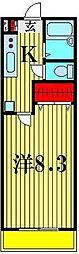 フレシールJ[103号室]の間取り