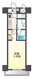 プライム松原[5階]の間取り