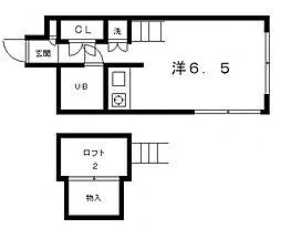 トラスティコート[2階]の間取り