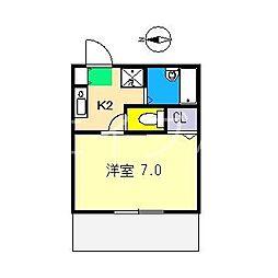 セフィラ横町[1階]の間取り
