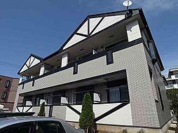 千葉県松戸市東平賀の賃貸マンションの外観