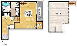 仮称)東九条石田町SKHコーポ[103号室号室]の間取り