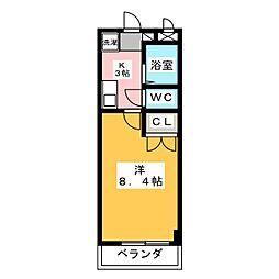 ガストホーフIII[2階]の間取り
