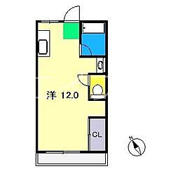 岩崎ハイツ[4階]の間取り