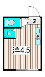 テラス南浦和[1階]の間取り