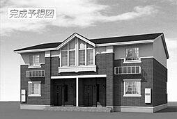 愛知県名古屋市名東区高針荒田の賃貸アパートの外観