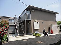 千葉県千葉市稲毛区穴川2丁目の賃貸アパートの外観