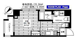 グランドコンシェルジュ早稲田[2階]の間取り