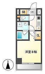 GRAN30NAGOYA(グランサーティナゴヤ)[8階]の間取り