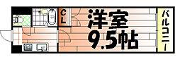 No.35 サーファーズプロジェクト2100小倉駅[1307号室]の間取り