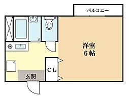ラプラス[2階]の間取り
