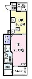 メゾンF (メゾンエフ)[3階]の間取り
