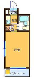 パークアベニュー国分寺21[1階]の間取り