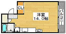 メゾン・ド・ブール[3階]の間取り