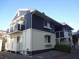 愛媛県松山市市坪南1丁目の賃貸アパートの外観