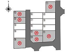 区画図(3号地...