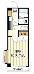 サンテリア三田II[2階]の間取り