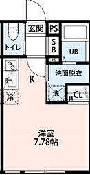 新検見川駅 4.9万円