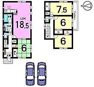土地面積62.01坪、全居室南向き収納スペースもたっぷり確保したゆとりある間取りです。お気軽にお問合せ下さい。