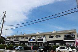 愛知県あま市本郷郷前の賃貸アパートの外観