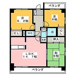 グランドメゾン神ノ倉[5階]の間取り
