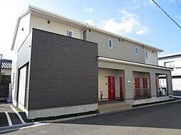大阪府岸和田市加守町3丁目の賃貸アパートの外観